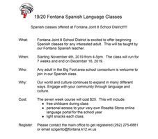 Join our new Spanish for Beginners course!