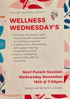 Wellness Wednesday  11/18