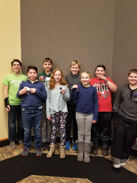 5/6 math team heading to state