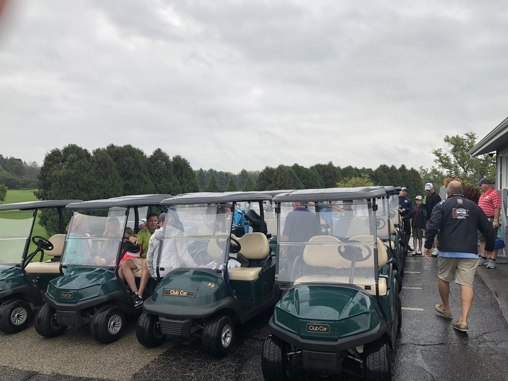 Carts are ready